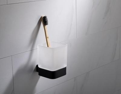 Стакан для зубных щеток Timo Selene Black 14033/03