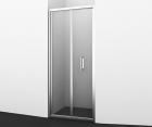 Душевая дверь, гармошка, универсальная WasserKRAFT Weser 78F04 (900x2000 мм)